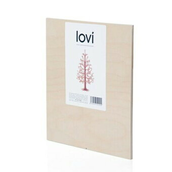 ロヴィクリスマスツリー25cm全3色ナチュラルウッドグレイライトグリーンLovi北欧木製カード卓上立体おしゃれシンプル