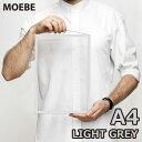 【100円クーポン対象】MOEBE フレーム A4 ライト グレー Frame 透明 アクリル板 長方形 額縁 ムーベ FALGA4 枠 灰色 おしゃれ シンプル…