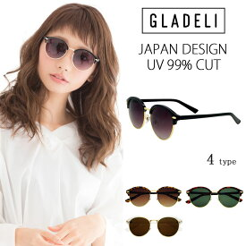 【送料無料】【全4色】GLADELI クラシック コンビ サングラス G50-24 レディース