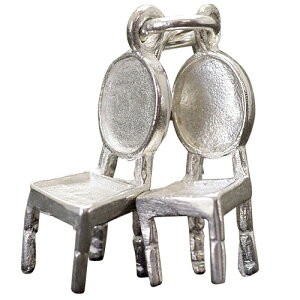 イス 椅子 チャーム シルバー925 アクセサリー パーツ かわいい 送料無料