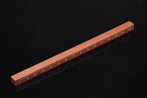 【DALLAITI】ダライッティ 木製の定規(ものさし) ブラウン rg 究極のおしゃれ定規