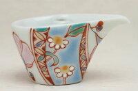 ミルチュウ銀舟窯花のタペストリーコーヒー用ミルク入れの新しいスタイルコーヒーフレッシュをカポっとはめる(ミルクポット)