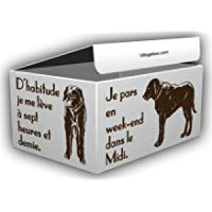 デザインダンボール ドッグ Sサイズ段ボール/収納用品/梱包資材/ギフト用