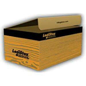 デザインダンボール ロジストックス Sサイズ段ボール/収納用品/梱包資材/ギフト用