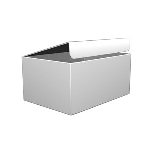 デザインダンボール ムジ Sサイズ段ボール/収納用品/梱包資材/ギフト用