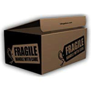 デザインダンボール タグ Sサイズ段ボール/収納用品/梱包資材/ギフト用