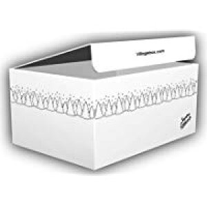 デザインダンボール ウィンター Mサイズ段ボール/収納用品/梱包資材/ギフト用