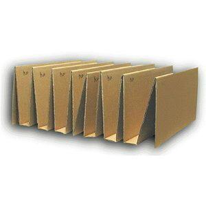 マガジン収納キット ( 2枚1組 )段ボール/収納用品/梱包資材