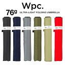Wpc 折りたたみ傘 超軽量76g レディース メンズ 男女兼用傘 スーパーエアライト 55cm Wpc Super Air-light Umbrella W…