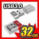 USBメモリ 32GB 3.0 おしゃれ USBメモリー 超小型 PQI U603V かわいい コンパクト USBフラッシュメモリー 【送料無料】シルバー UD603VSL-32 Silver レッド