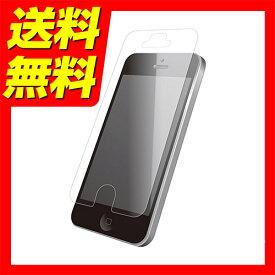 e7be977441 ELECOM iPhone SE/5/5S/5C 液晶保護フィルム 衝撃吸収 反射防止