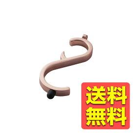 ドアオープナー つり革フック タッチツール 感染予防 フックタイプ S字型 ウイルス対策 非接触 ピンク P-MTHKSPN / ELECOM 【送料無料】