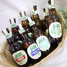 【オーガニック ビオ】ジェード・オーガニックビール お試し8本セット 250ml×8本 フランス