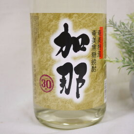 黒糖焼酎 加那(かな) 30度 1800ml 西平酒造