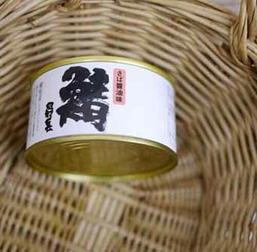 田村長 さば醤油味 缶詰 180g