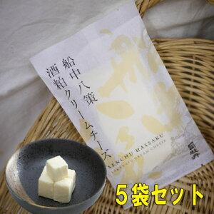 司牡丹 船中八策 酒粕クリームチーズ 75gx5個セット※要冷蔵商品の為【クール便発送】
