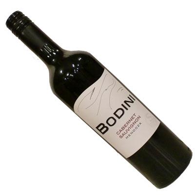 【アルゼンチン】【赤ワイン】ボディーニ カベルネ・ソーヴィニヨン 2015ドミニオ・デル・プラタ[ミディアムボディー]