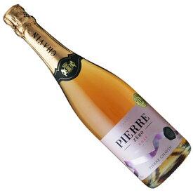 【フランスワイン】【ノン・アルコール スパークリング】ピエール・ゼロ ロゼ・スパークリング[やや甘口][ノンアルコール・ワインテイスト飲料]