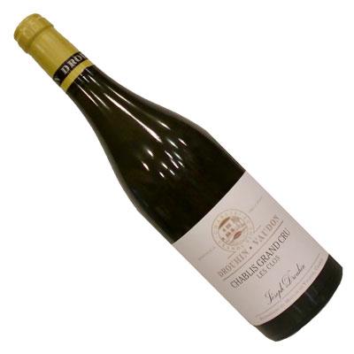 シャブリ グラン・クリュ レ・クロ 2012ジョセフ ドルーアン自社畑のワイン(ドメーヌ物) ビオディナミ