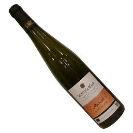 【フランスワイン】【白ワイン】アルザス ミュスカ 2016ウンシュ・エ・マン[辛口]