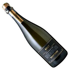 【イタリアワイン】【スパークリングワイン】サンテロ ブラック ブリュット NV [辛口]