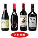 【予約販売】【新酒ワイン】ヴィーノ・ノヴェッロ 2019 4本セット【送料無料】【赤ワインセット】
