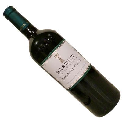【南アフリカ】【赤ワイン】ワーウィック カベルネ・フラン 2013[フルボディー]