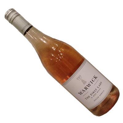 【南アフリカ】【白ワイン】ワーウィック・ファーストレディー・ドライ・ロゼ 2016[辛口]