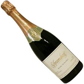 【アメリカワイン】【スパークリングワイン】シュラムスバーグ ブラン・ド・ブラン 2016 ノース・コースト [辛口]