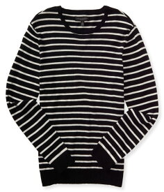 エアロポステール AEROPOSTALE メンズ Men's セーター Striped Crew Neck Sweater ブラック Black