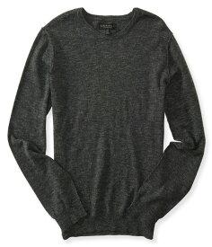 エアロポステール AEROPOSTALE メンズ Men's セーター Solid Crew Neck Sweater チャコールヘザーグレー Charcoal Heather Grey