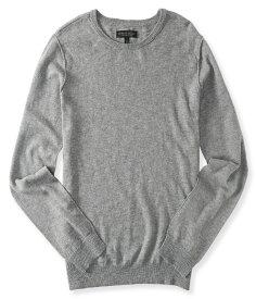 エアロポステール AEROPOSTALE メンズ Men's セーター Solid Crew Neck Sweater ミディアムグレー Medium Heather Grey