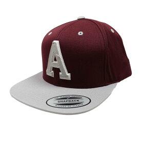 """返品不可(エアロポステール)AEROPOSTALE キャップ Signature """"A"""" Adjustable Hat マゼンタ Magenta"""