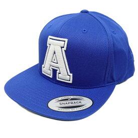 """返品不可(エアロポステール)AEROPOSTALE キャップ Embroidered """"A"""" Adjustable Hat ブルー Blue"""