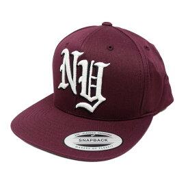 返品不可(エアロポステール)AEROPOSTALE キャップ NY Adjustable Hat マゼンタ Magenta