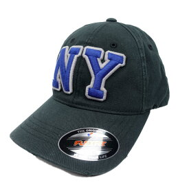 返品不可(エアロポステール)AEROPOSTALE キャップ NY Slouchy Fitted Hat ブラック Black