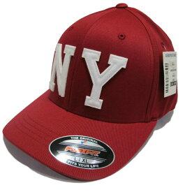 返品不可(エアロポステール)AEROPOSTALE キャップ Appliqu?d NY Fitted Hat レッド Red