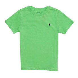 ポロ ラルフローレン POLO RALPH LAUREN ボーイズ Boys 半袖 Tシャツ Cotton Jersey Crewneck T-Shirt ニュー ライム New Lime