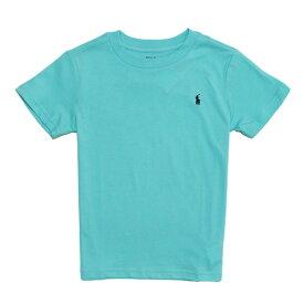ポロ ラルフローレン POLO RALPH LAUREN ボーイズ Boys 半袖 Tシャツ Cotton Jersey Crewneck T-Shirt ライト ミント Light Mint