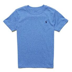 ポロ ラルフローレン POLO RALPH LAUREN ボーイズ Boys 半袖 Tシャツ Cotton Jersey Crewneck T-Shirt ソフト ロイヤル ヘザー Soft Royal Heather