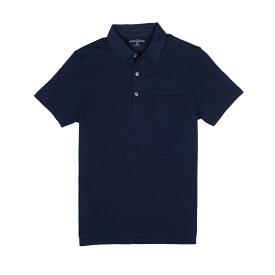 ジェイクルー マーカンタイル J.Crew Mercantile メンズ Men's 半袖 ポロシャツ Short Sleeve Polo Shirt In Slub Cotton ネイビー Navy
