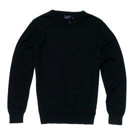 ジェイクルー J.Crew メンズ Mens セーター Harbor cotton crewneck sweater ブラック Black
