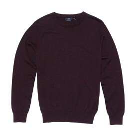 ジェイクルー J.Crew メンズ Mens セーター Harbor cotton crewneck sweater バーガンディ Heather Burgndy