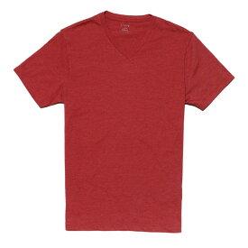 ジェイクルー J.Crew 半袖Tシャツ Heathered V-neck T-shirt セイラー レッド Sailor Red