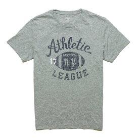 ジェイクルー J.Crew メンズ Mens 半袖 Tシャツ Football Graphic T-shirt ヘザー クローム Heather Chrome