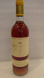 シャトー・ディケム 1983【A.C.ソーテルヌ】Ch.d'Yquem 1983【A.C.Sauternes】ラベルに擦れあり