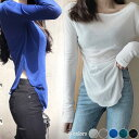【最新入荷【送料無料】Vネックシャツ長袖カットソーレディース薄手無地長袖透け感大人おしゃれバーゲン
