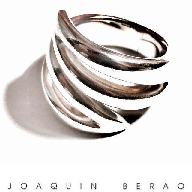 ☆【送料無料】JOAQUIN BERAO(ホアキンベラオ) シルバー素材 デザインリング☆【中古】【美品】【2017ss】 【luxurybrandselection】