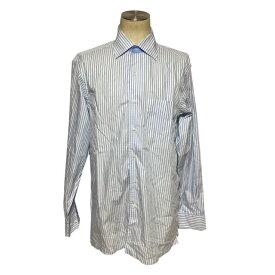 ☆【送料無料】【レア】Bamford & Sons(バムフォード&サンズ)ストライプ柄デザインシャツ【中古】【美品】【luxurybrandselection】【2017ss】バーゲン
