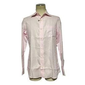 ☆【送料無料】【人気】プラチナ コムサ(Platinum COMME CA) デザインドレスシャツ【中古】【美品】【2017aw】バーゲン
